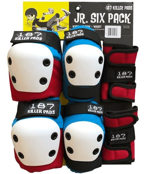 187 Six Pack Junior Pads