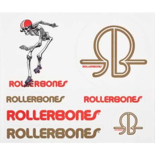 Rollerbones Sticker Derby