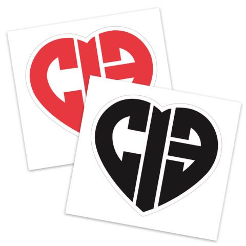 CIB Heart Sticker