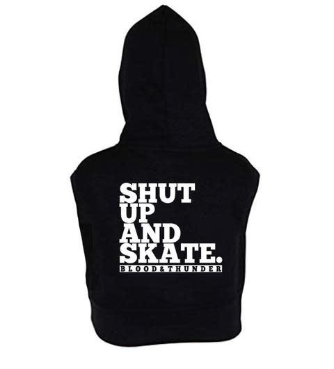 Blood & Thunder Shut Up and Skate Sleeveless Hoodie