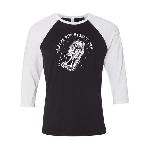 Blood & Thunder Bury Me Baseball Shirts