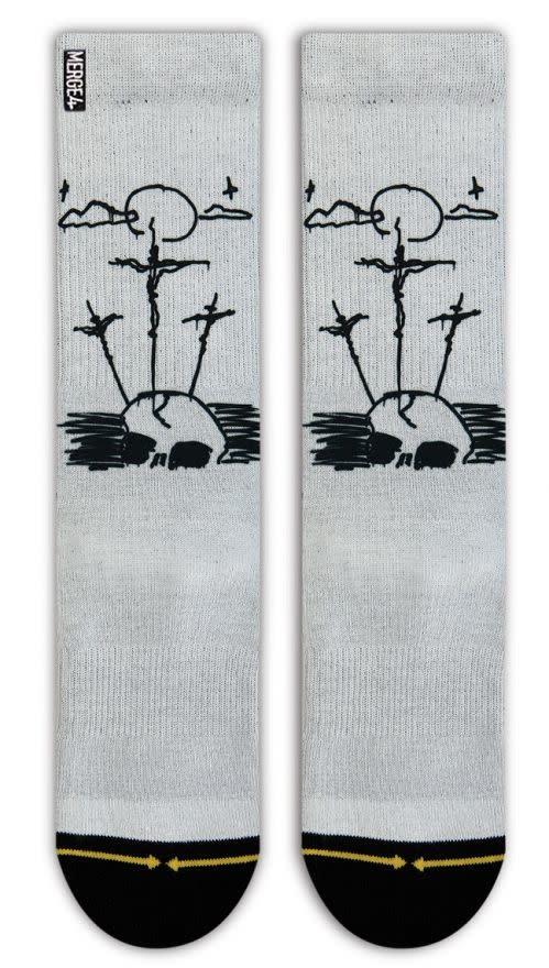 Merge4 Christian Hosoi 3 Crosses Sock