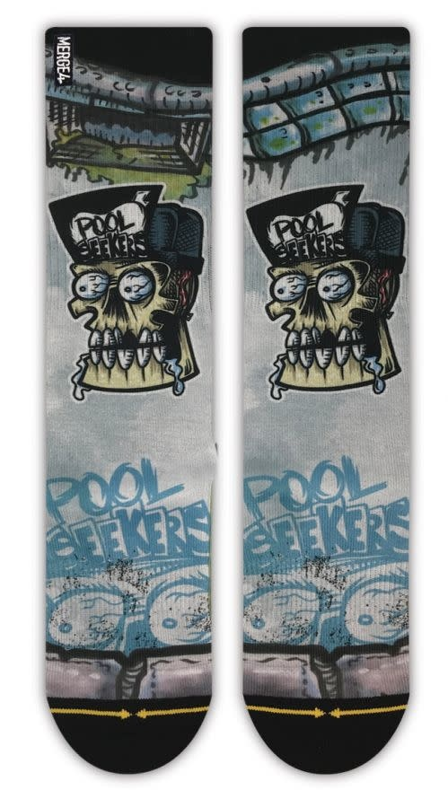 Merge4 Rick Thorne Pool Seekers Sock