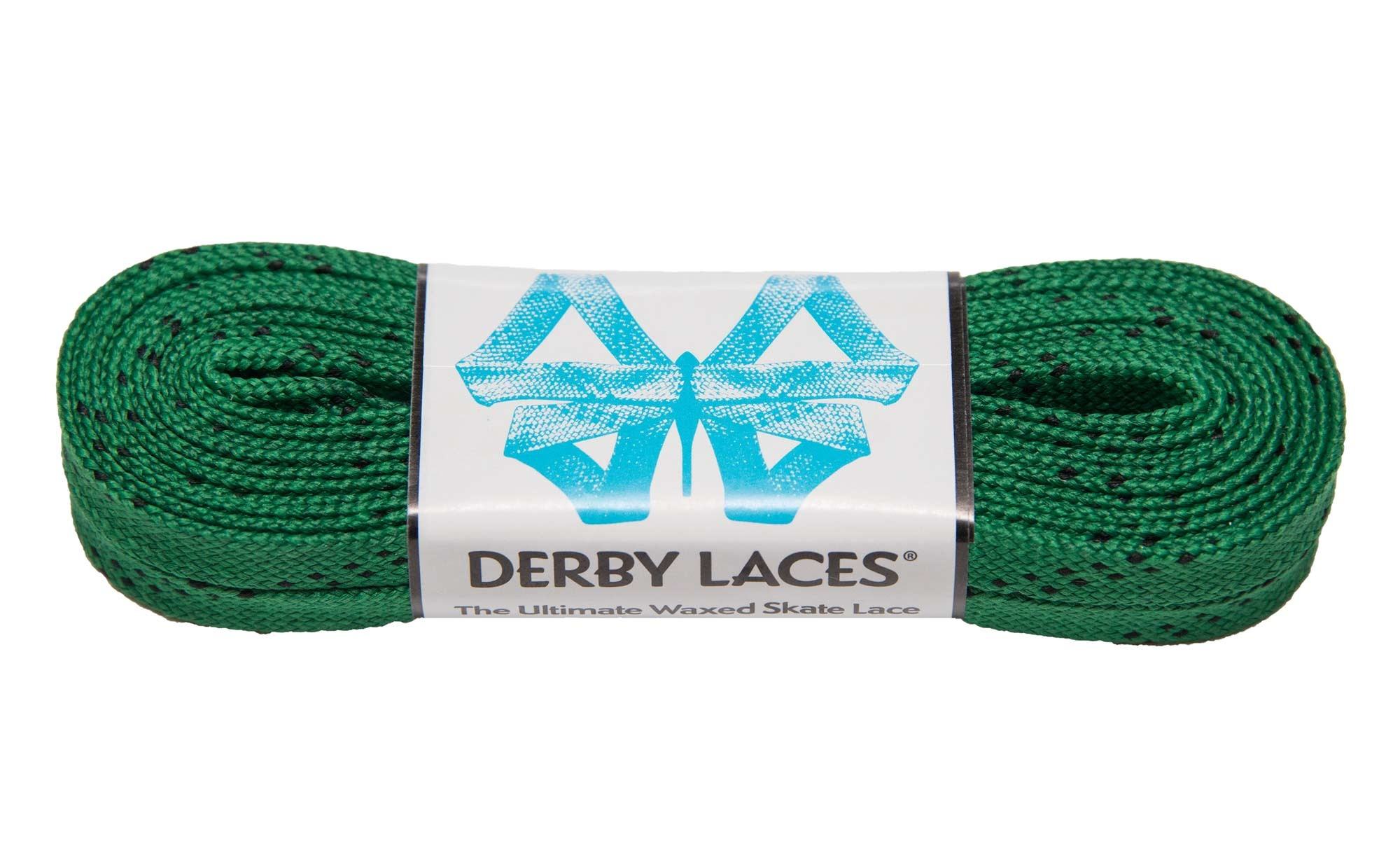 Derby Laces Waxed - Kelly Green