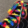 Derby Laces STYLE Waxed - Rainbow Block