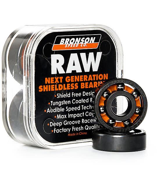 Bronson Raw Bearings - 8pk