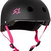 S-1 Lifer - Black Matte w/ Pink Straps