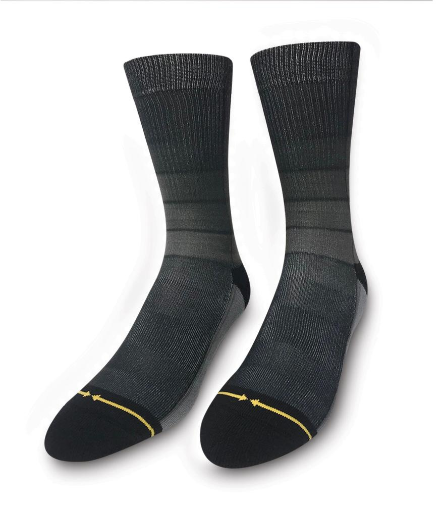 Merge4 Fade Stripes Black Sock