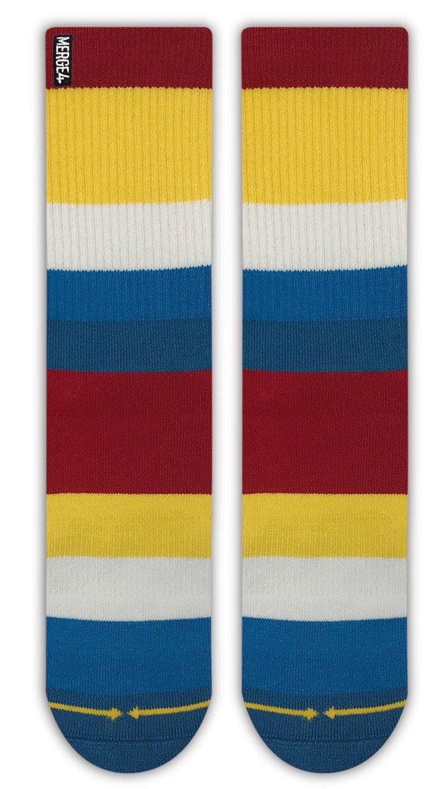 Merge4 Boat Stripe Bamboo Sock