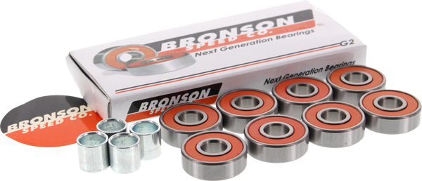 Bronson G2 Bearings - 8 pack