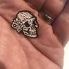 D&G Skull & Flowers Enamel Pin