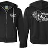 D&G Logo Back & Badge Zipped Hoodie