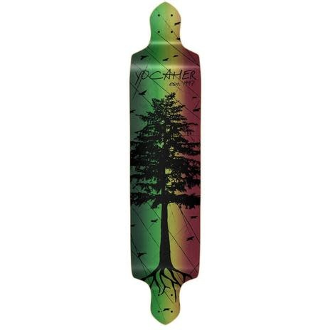 Yocaher In The Pines Rasta Drop Down Deck