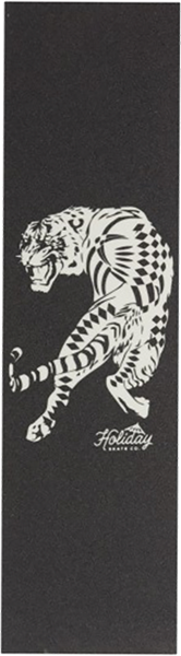 Holiday Tiger Grip Sheet - Black/Clear