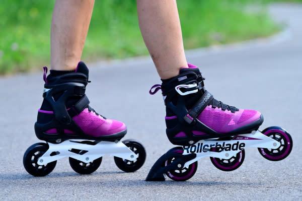 Rollerblade Macroblade 100 3WD - Women's (2021) Violet/Black