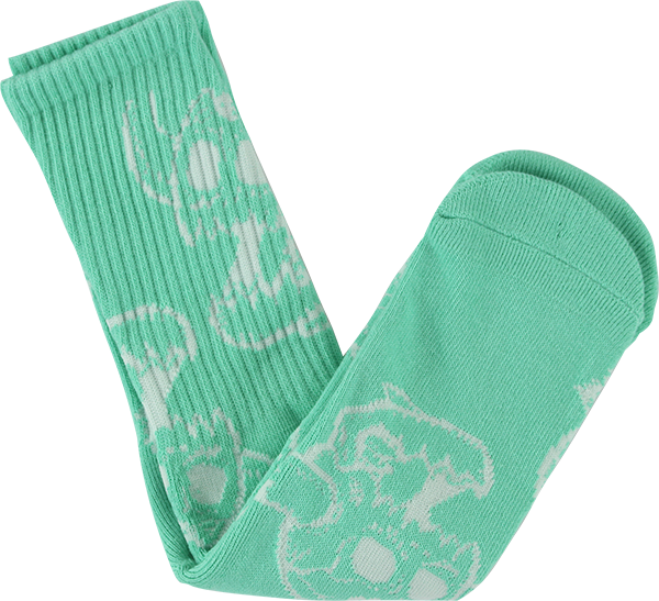 Toy Machine Monster Skull Crew Sock