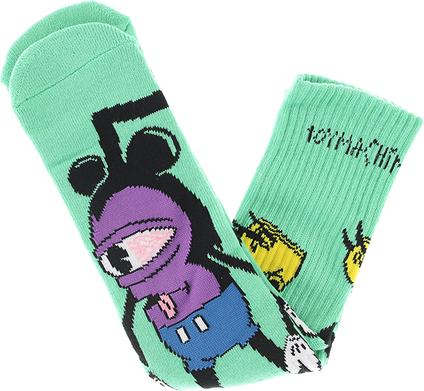 Toy Machine Mousketeer Crew Sock