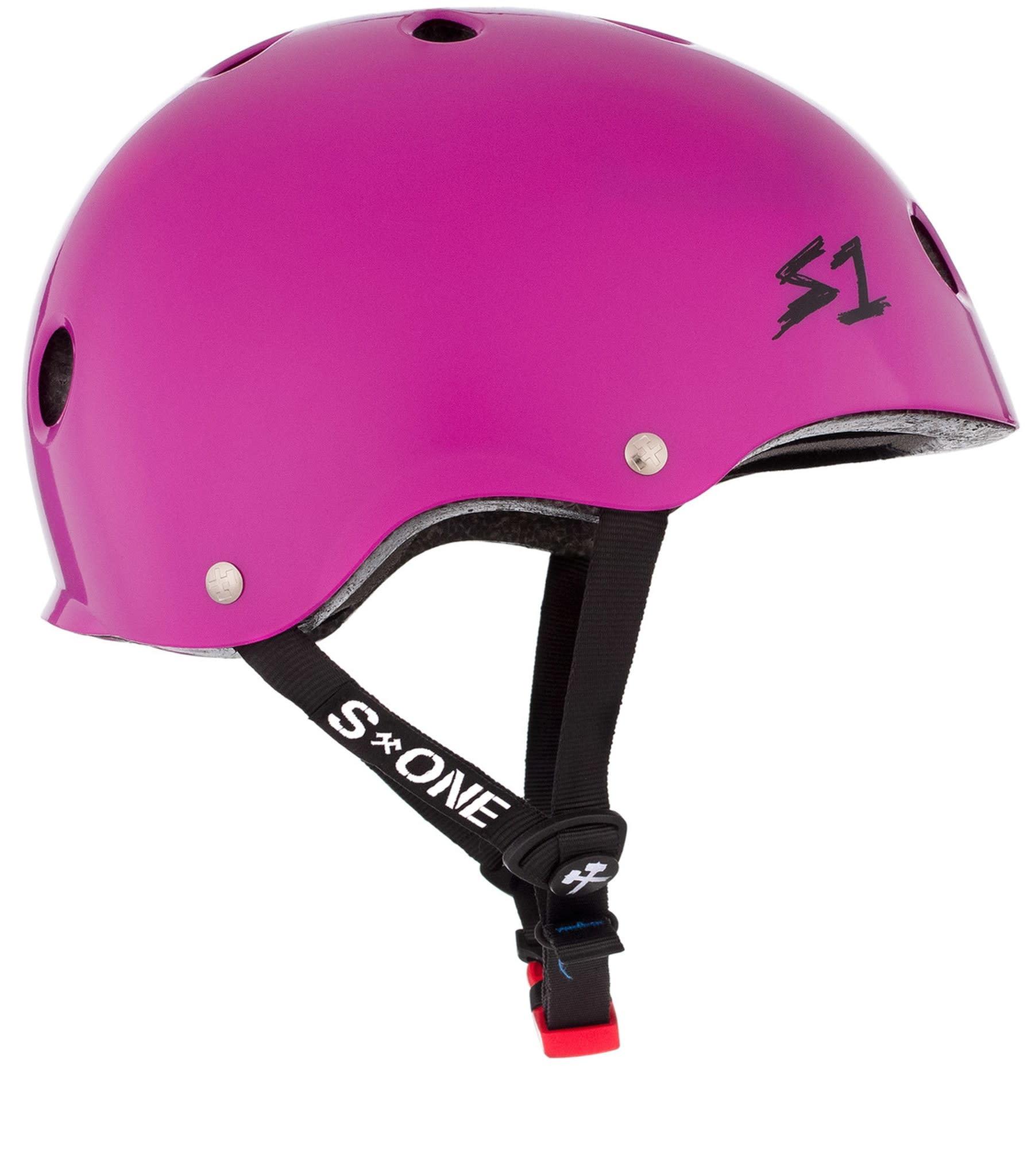 S-1 Mini Lifer Helmet - Bright Purple Gloss