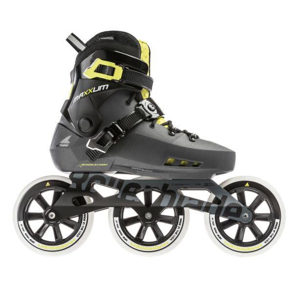 Rollerblade Maxxum Edge 125 3WD - Grey/Lime (2021)