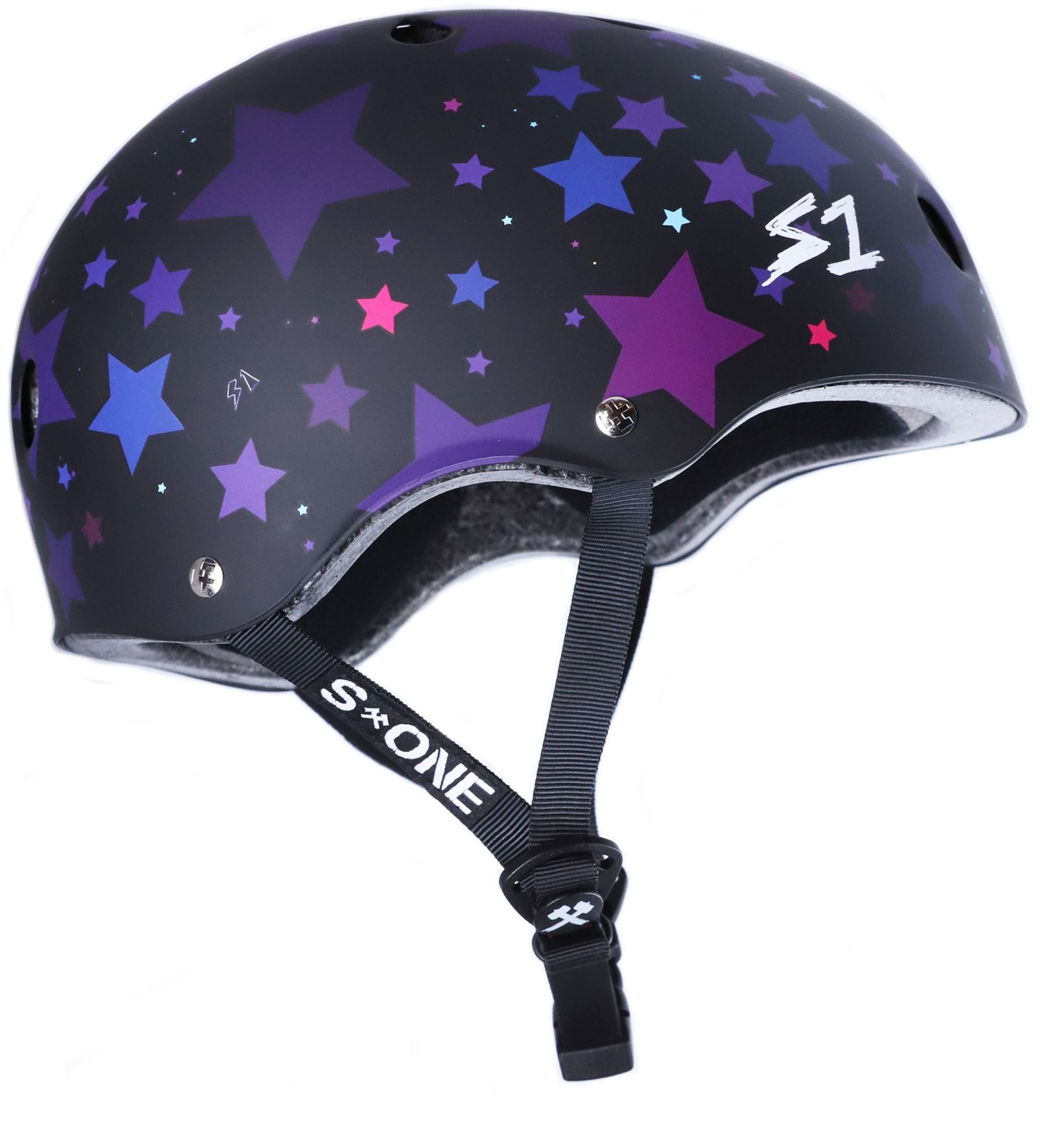 S-1 Lifer Helmet - Black Matte Star