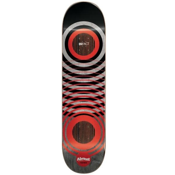 Almost Youness Red Rings Deck - 8.25""