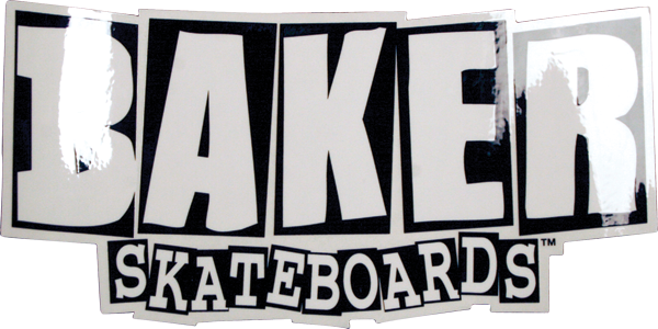 Baker Brand Logo Sticker - Assorted Colors