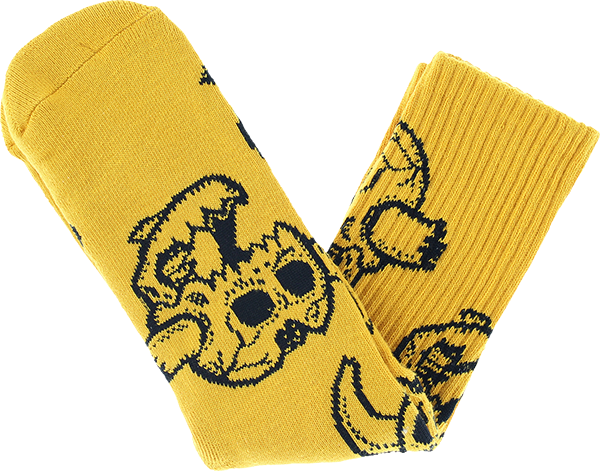 Toy Machine Monster Skull Crew Sock