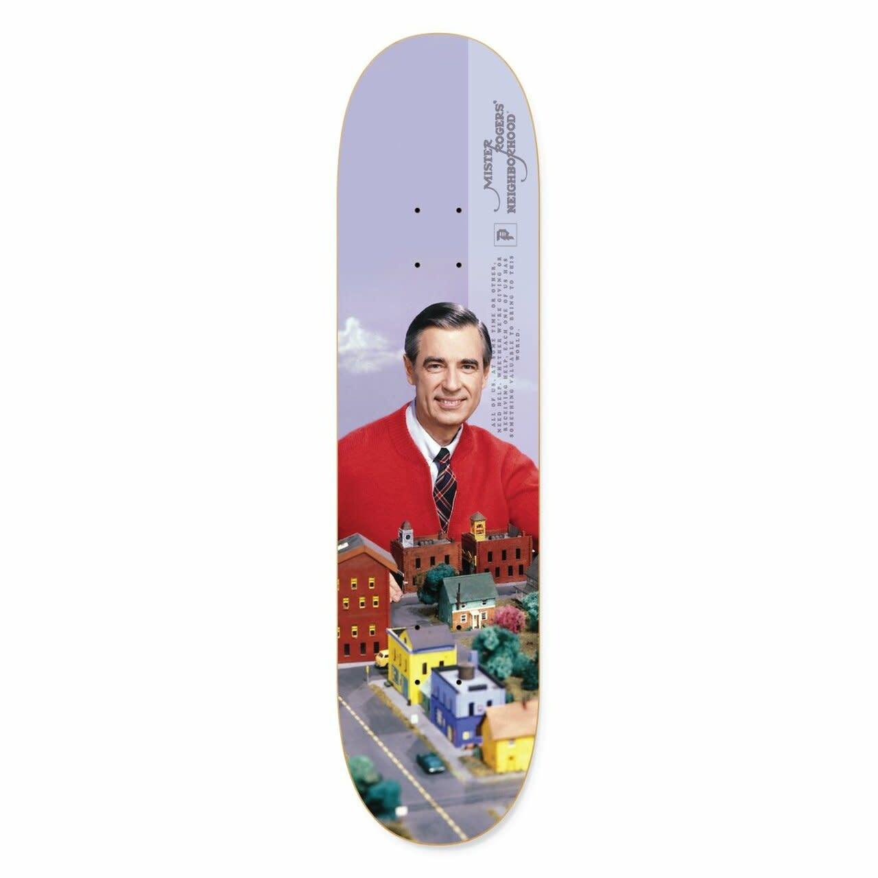 "Primitive Mr. Rogers Neighborhood Deck - 8.25"""