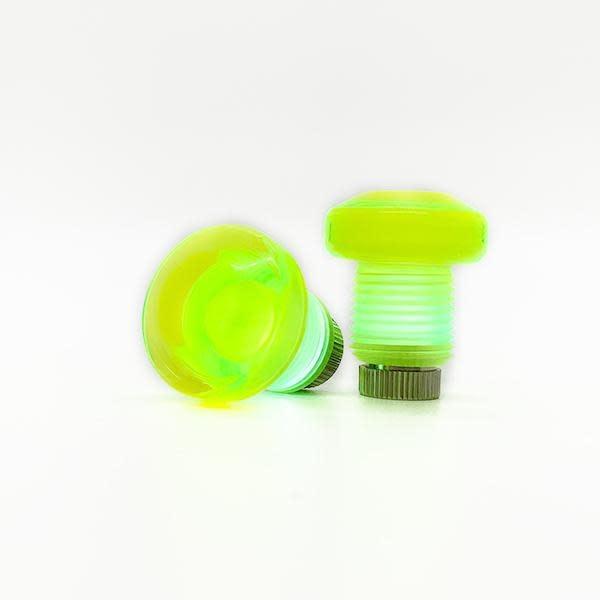 Jammerz Light Up Toe Plugs - Fluorescent Yellow (2000)