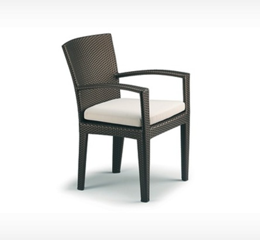 PANAMA ARM CHAIR IN BRONZE