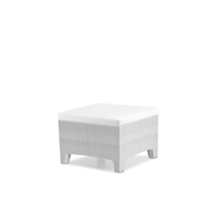 BARCELONA FOOTSTOOL IN CHALK