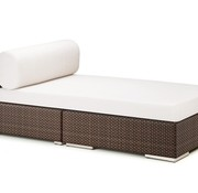 DEDON, INC. LOUNGE DAYBED IN JAVA