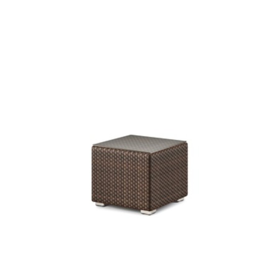 LOUNGE SIDE TABLE/STOOL IN JAVA