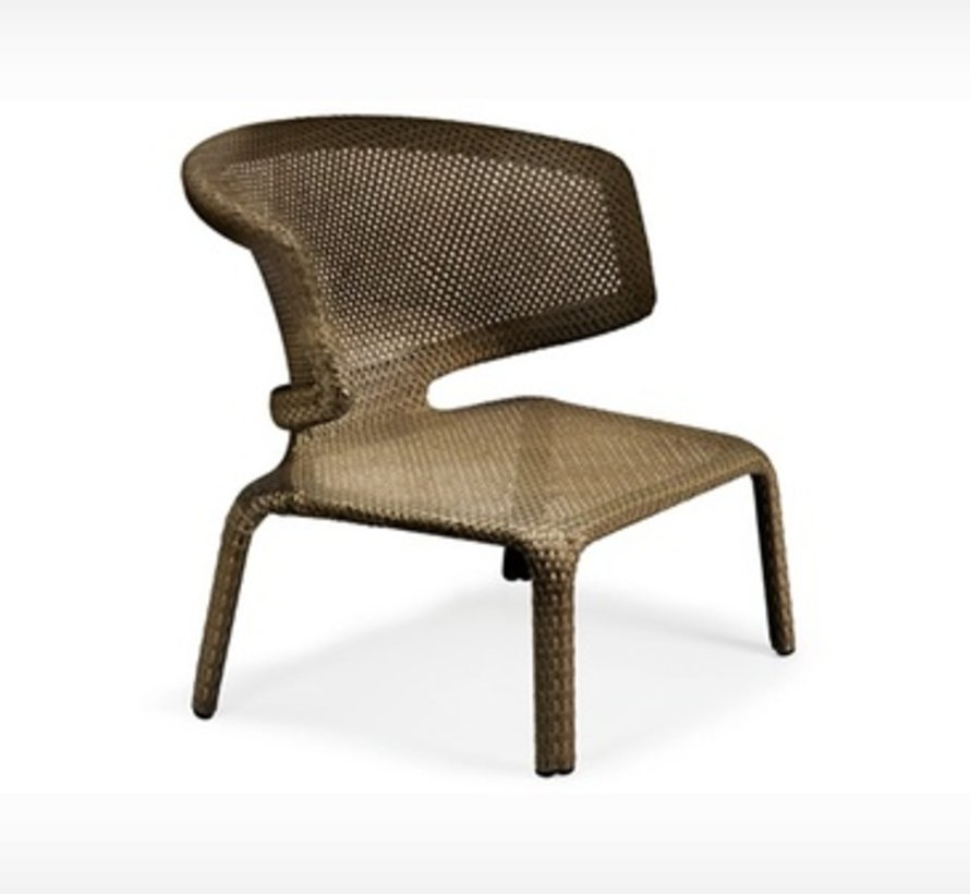 SEASHELL LOUNGE CHAIR IN BRONZE