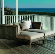 DEDON, INC. MU DAYBED RIGHT IN VULCANO