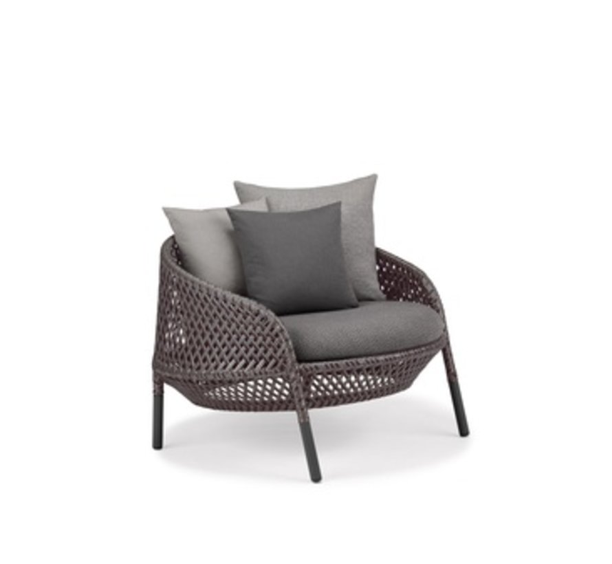 AHNDA LOUNGE CHAIR IN ELEMENTAL WEAVE