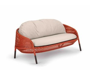DEDON, INC. AHNDA 2-SEATER SOFA IN ELEMENTAL WEAVE