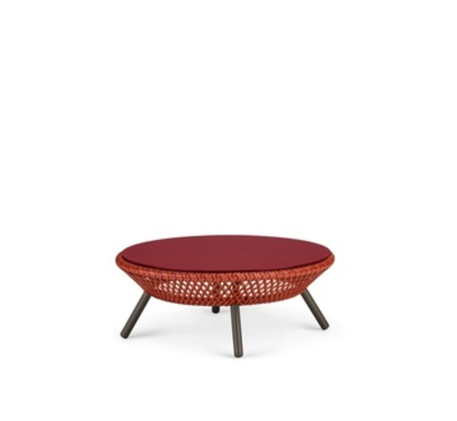 AHNDA FOOTSTOOL / COFFEE TABLE IN ELEMENTAL WEAVE