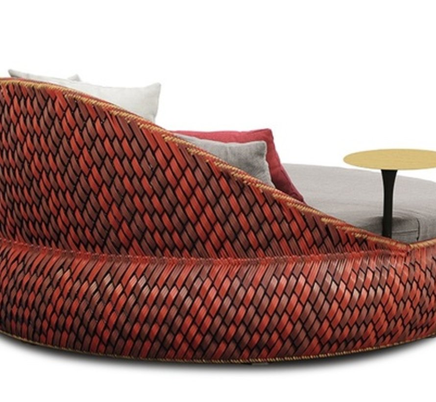 DALA LOVESEAT IN COLOR FIRE