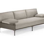 DEDON, INC. RAYN 3-SEATER SOFA WITH LEFT AND RIGHT ARMREST IN COLOR VENETO