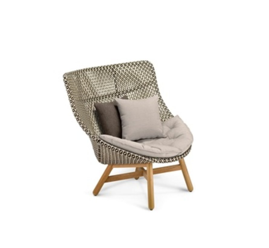 MBRACE WING CHAIR IN PEPPER