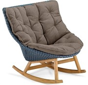 DEDON, INC. MBRACE ROCKING CHAIR IN PEPPER