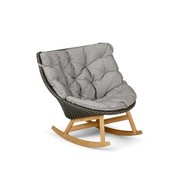 DEDON, INC. MBRACE ROCKING CHAIR IN ARABICA
