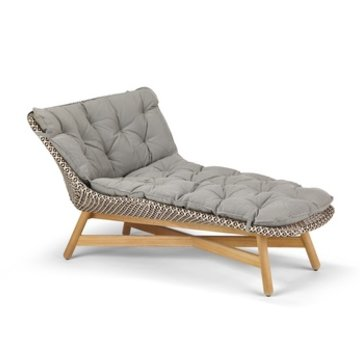 DEDON, INC. MBRACE DAYBED IN PEPPER WEAVE