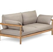 DEDON, INC. TIBBO 2-SEATER WITH VULCANO MATTE WEAVE
