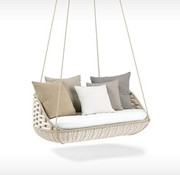DEDON, INC. SWINGUS 2-SEATER IN CHALK