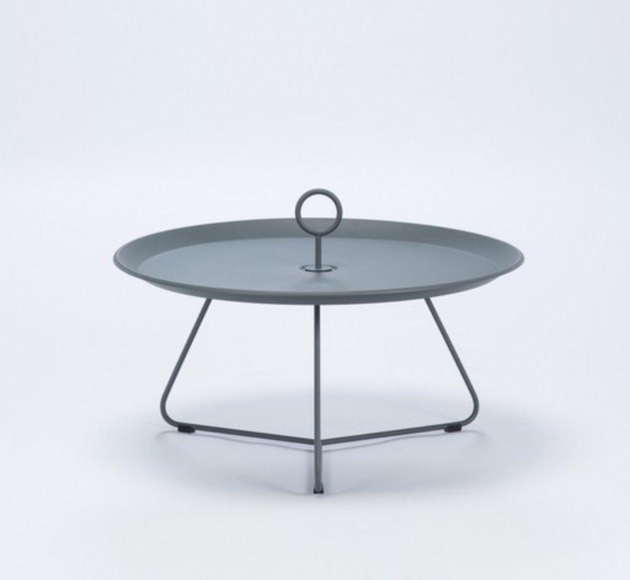 EYELET 28 INCH TRAY TABLE IN DARK GREY POWDER COATED STEEL