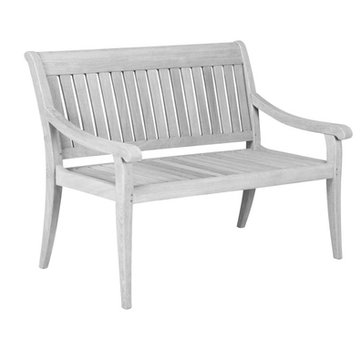 JENSEN LEISURE FURNITURE ARGENTO GARDEN BENCH