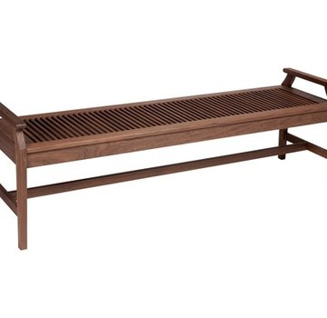 JENSEN LEISURE FURNITURE OPAL 6ft BENCH WITH ARMS