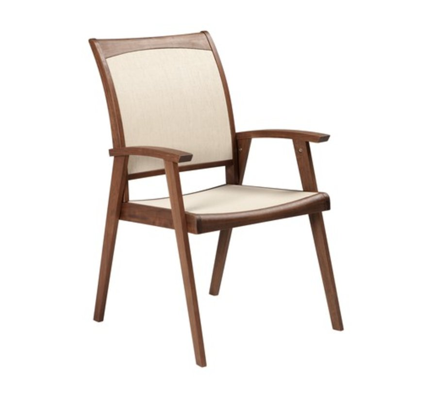 TOPAZ SLING DINING CHAIR - NATURAL SLING